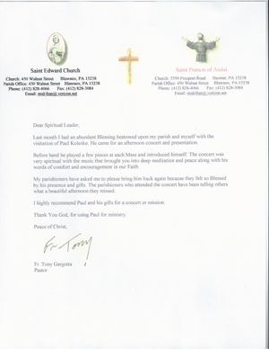 Letter Of Invitation To A Pastor For Speaking | just b.CAUSE
